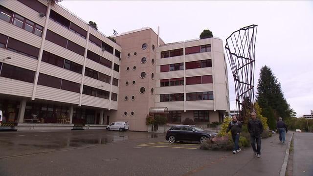 PKZ-Gebäude von aussen