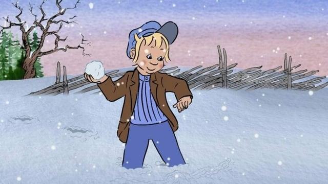 Michel von Löneberga im Schnee