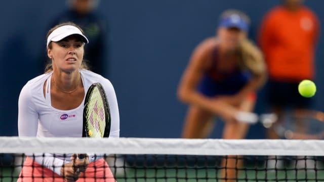 Martina Hingis hat nichts von ihrem Ballgefühl eingebüsst.