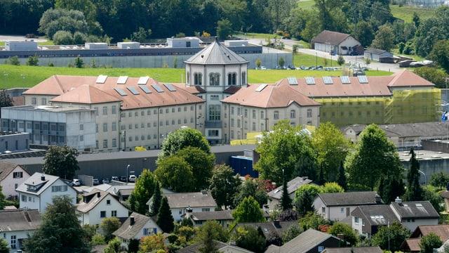 Ein Bild des Gefängnises in Lenzburg.