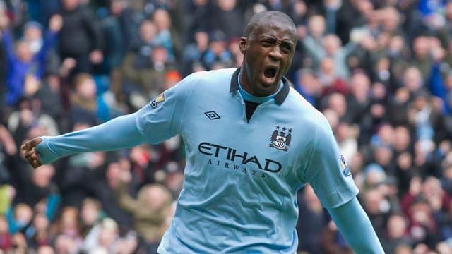 Yaya Touré leitete mit seinem Treffer den 2:0-Sieg Manchester Citys gegen Chelsea ein.