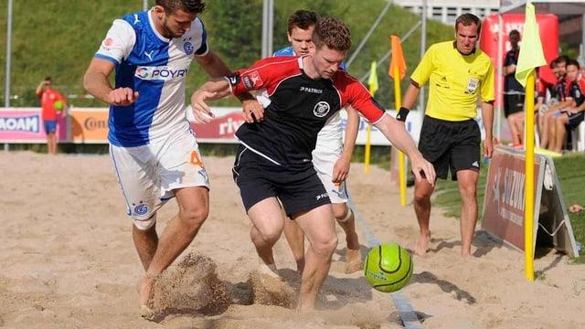 Beach Soccer Spieler