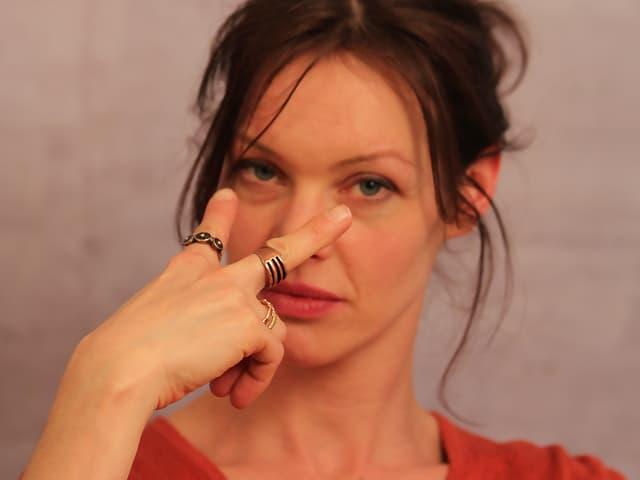 Schauspielerin Mona Petri