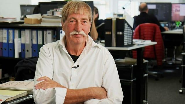 Jacques Muller, Erfinder der Swatch, arbeitet noch heute im Swatch-Konzern