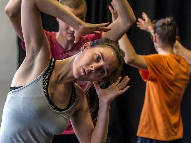 Schüler der Dimitri Tanzklasse.