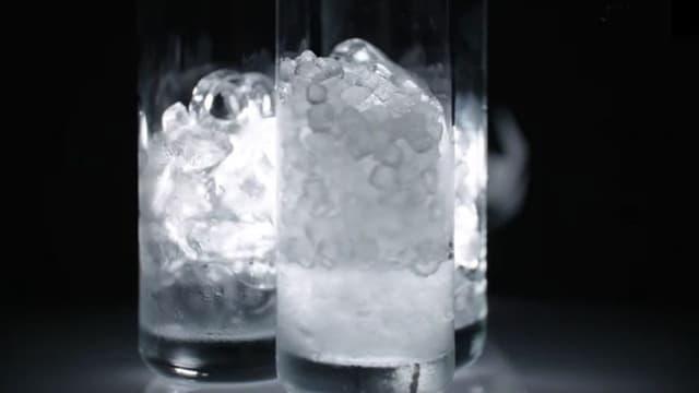 Unhygienische Eiswürfel