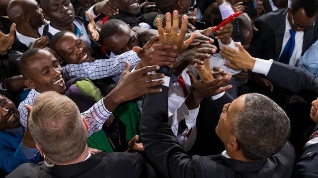 US-Präsident Barack Obama in Kenia.
