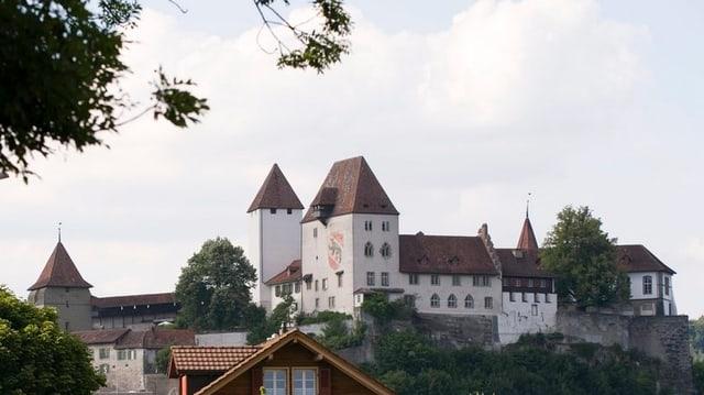 Blick auf das Schloss Burgdorf