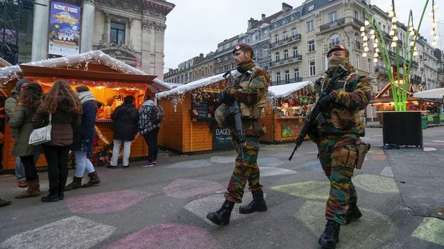 Schuldads da la Belgia en la citad da Brüssel.