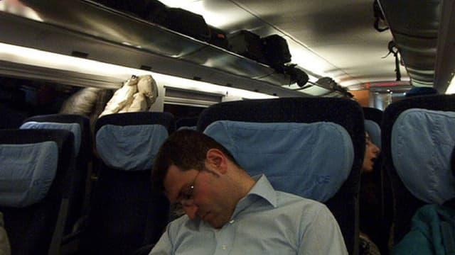 Nickerchen im Zug mit fatalen Folgen
