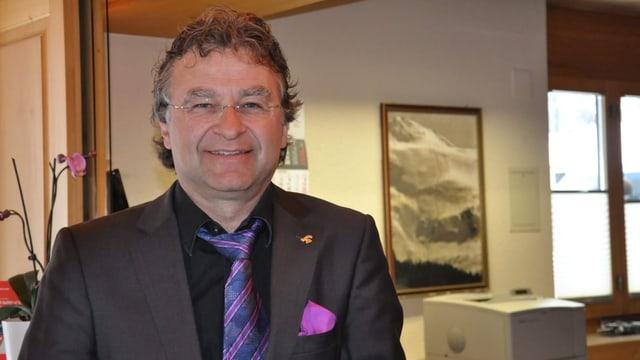 Il president da HotellerieSuisse Grischun, Ernst Wyrsch