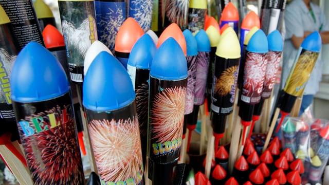 Verkauf Feuerwerkraketen