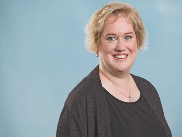 Portrait der SP-Kandidatin Christa Meier