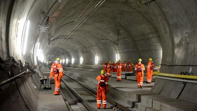 Die Eröffnung des Neat-Basistunnels im Juni 2016 soll gross gefeiert werden.