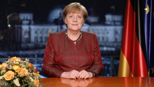 Angela Merkel en habitus da dunna da stadi.