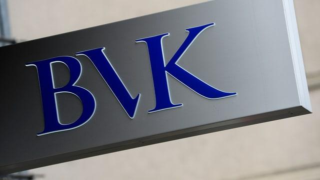 Das Logo der Pensionskasse BVK
