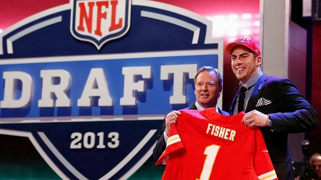 Eric Fisher Nummer 1