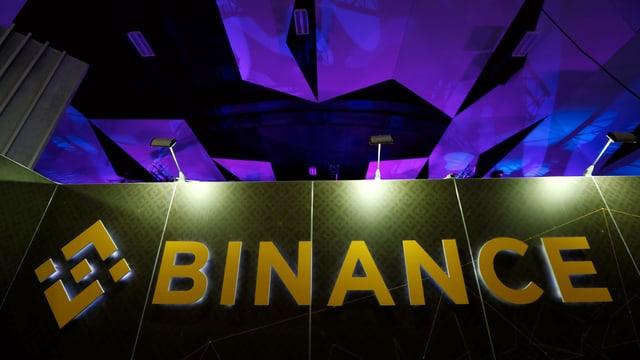 Logo der Kryptowährungs-Börse Binance
