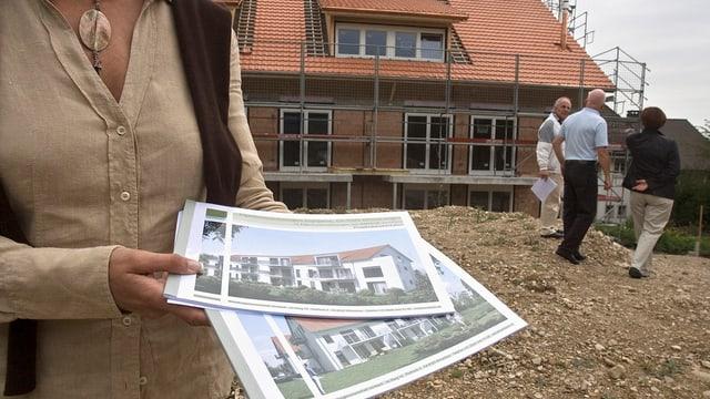 Hausbesichtigung in Schinznach