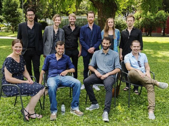Porträt 10 Regisseure.