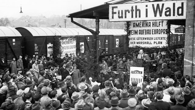 Güterlieferung in Deutschland nach dem Zweiten Weltkrieg