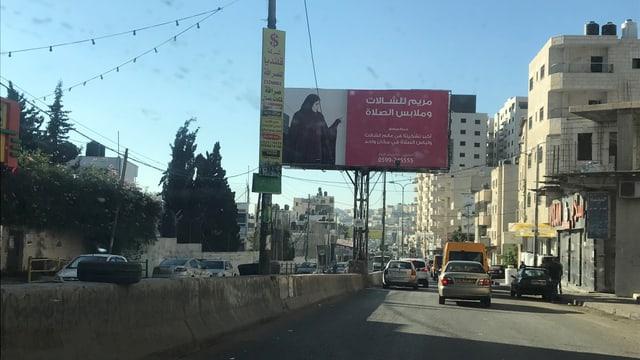 In Ramallah im Westjordanland.