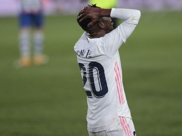 Real Madrid blamierte sich am Wochenende zuhause gegen Alaves.