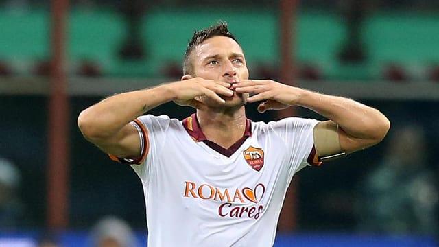 Die Identifikationsfigur der AS Roma schlechthin.