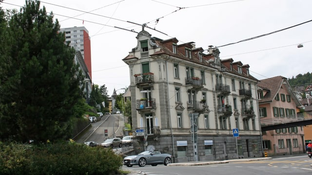 Wohnhaus an der Baselstrasse Luzern.
