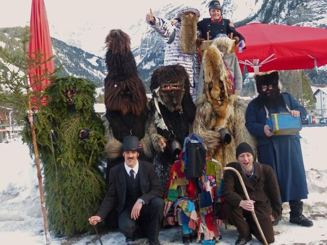 Die Pelzmartige-Truppe aus dem Jahr 2013