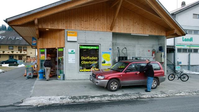 Postagentur in Oberbalm (BE).
