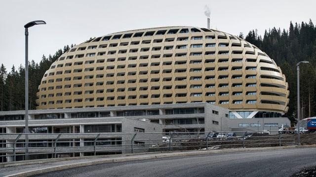 Das Hotel Intercontinental.
