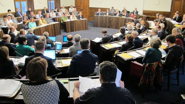 Kantonsratssaal.