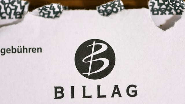 Logo da Billag sin cuverta.