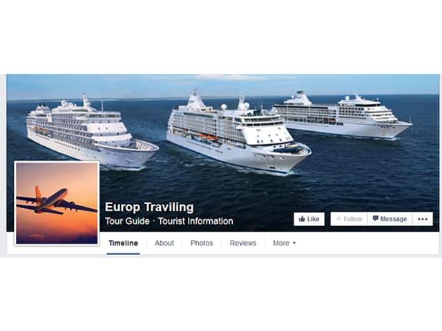 Das Facebook-Profil eines Schleppers, der Fluchtwege nach Europa anbietet.