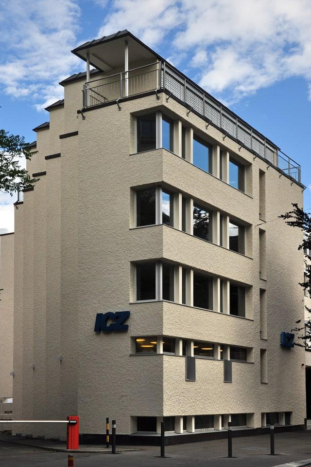 Fassade der ICZ