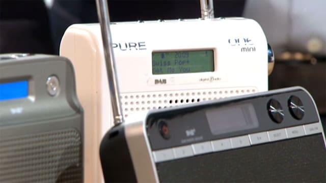 Drei DAB-Radios