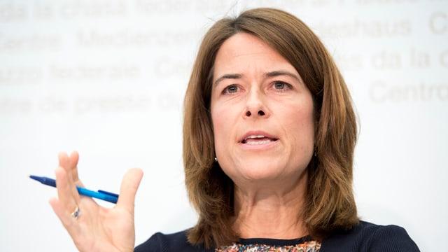 Petra Gössi, presidenta da la PLD.
