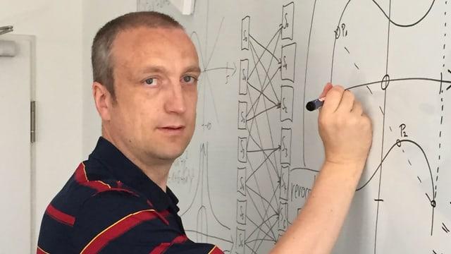 Porträt des Kryptologen Klaus Schmeh.
