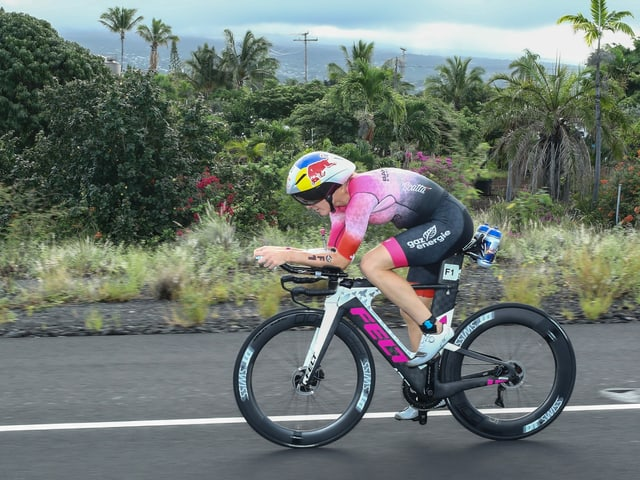 Daniela Ryf (hier beim Ironman Hawaii 2019).