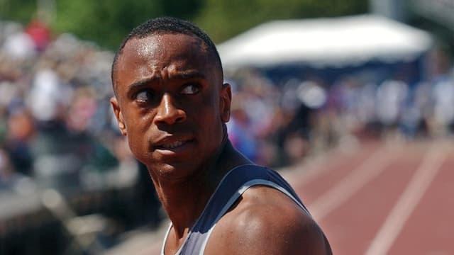 Jon Drummond, hier als aktiver Sprinter auf einem Archivbild.