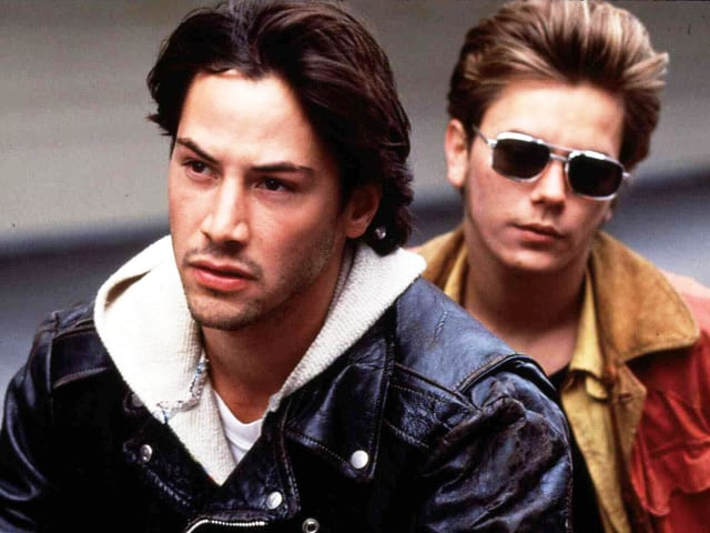 Keanu Reeves und River Phoenix in «My Own Private Idaho».