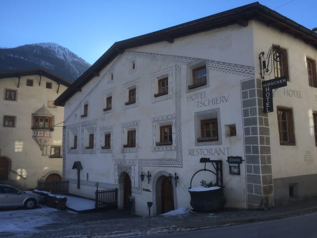 Fatschada hotel Tschierv a Müstair