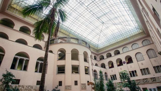 L'uschenumnà Lichthof da l'universitad da Turitg.