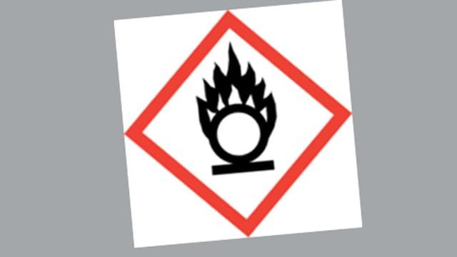 Neue Gefahrensymbole