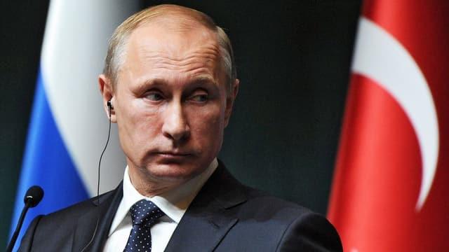 Il president russ Wladimir Putin.
