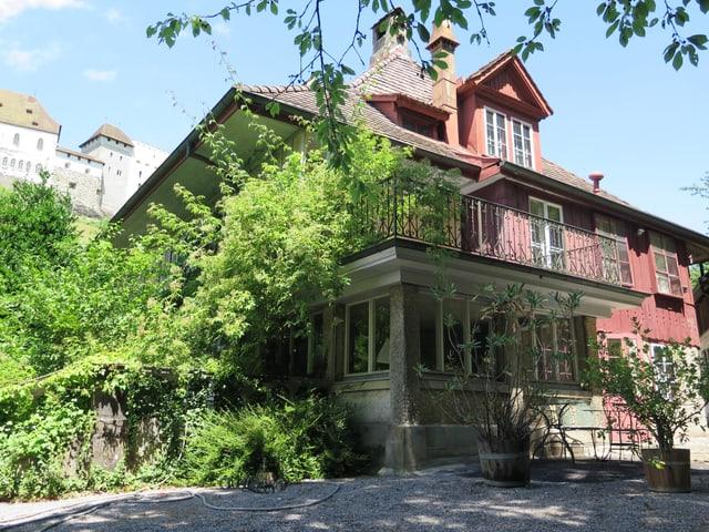 Das Haus von Peter Mieg.