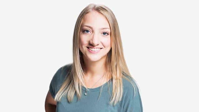 Zambo Moderatorin Anna Zöllig