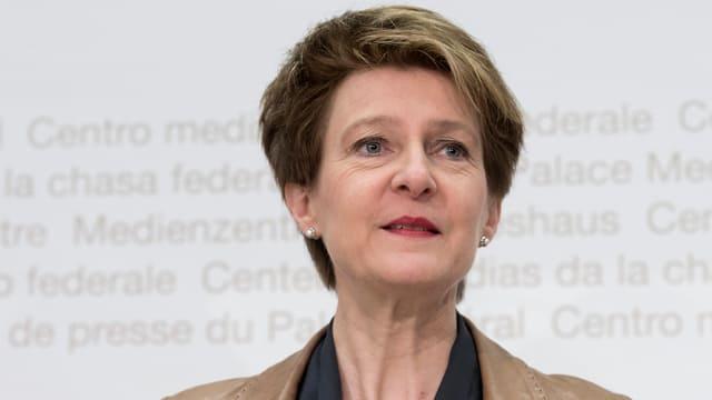 Bundesrätin Sommaruga