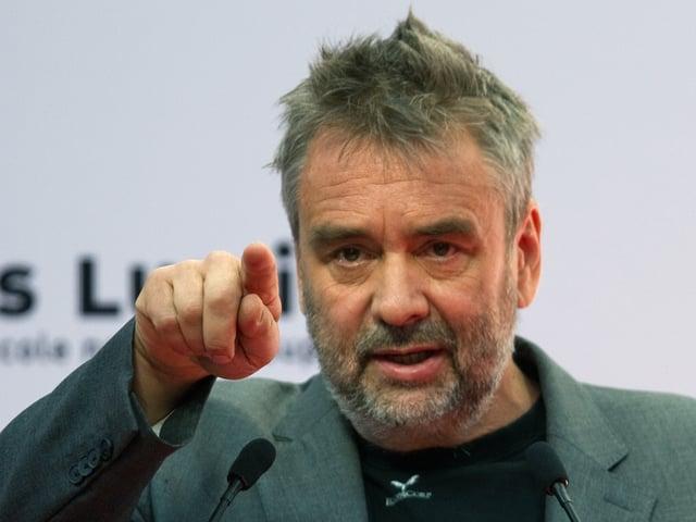 Der französische Regisseur Luc Besson.